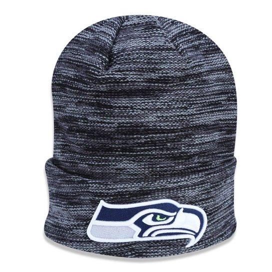 Gorro Touca Seattle Seahawks Team Snug New Era - Cinza - Compre ... 8904e311458