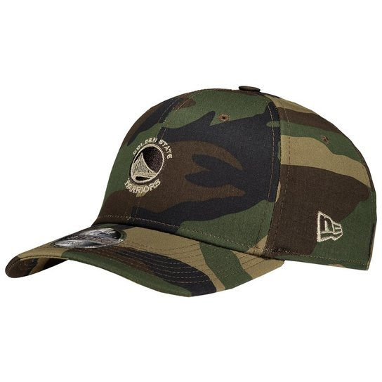 Boné New Era NBA Golden State Warriors 3930 Camuflado - Compre Agora ... c783603c1fd