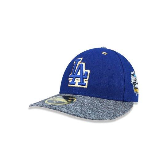 Boné 5950 Los Angeles Dodgers MLB Aba Reta New Era - Azul Royal ... 97f67ca2d5c