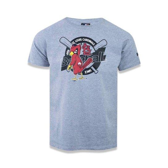 Camiseta Saint Louis Cardinals MLB New Era Masculina - Cinza ... 8b290303c8d