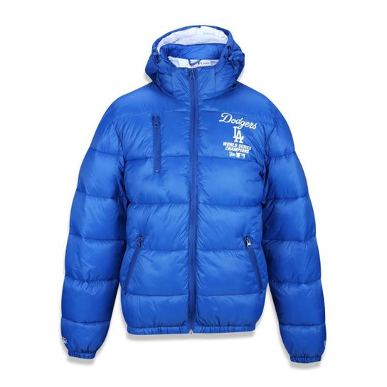 Jaqueta Bomber Los Angeles Dodgers MLB New Era Masculina - Azul Royal 2e60e19aa26