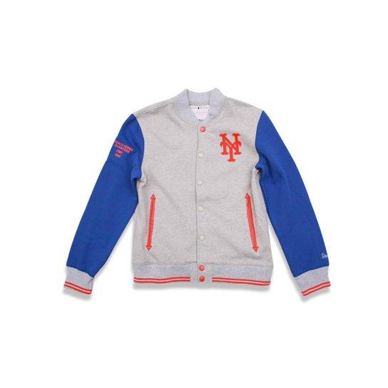 Jaqueta Varsity New York Mets MLB New Era Masculina - Compre Agora ... a30fee6c909