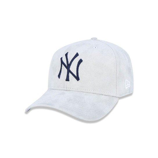 Boné 940 New York Yankees MLB Aba Curva Strapback New Era - Compre ... 0a8dbffadeb