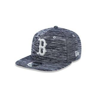 6ebbcc3e0b62a Boné 950 Boston Red Sox MLB Aba Reta Snapback New Era