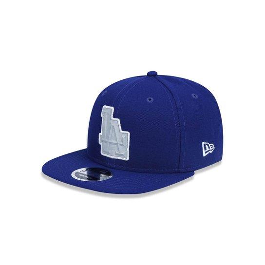1881d34a0 Boné 950 Original Fit Los Angeles Dodgers MLB Aba Reta Strapback New Era -  Azul Royal