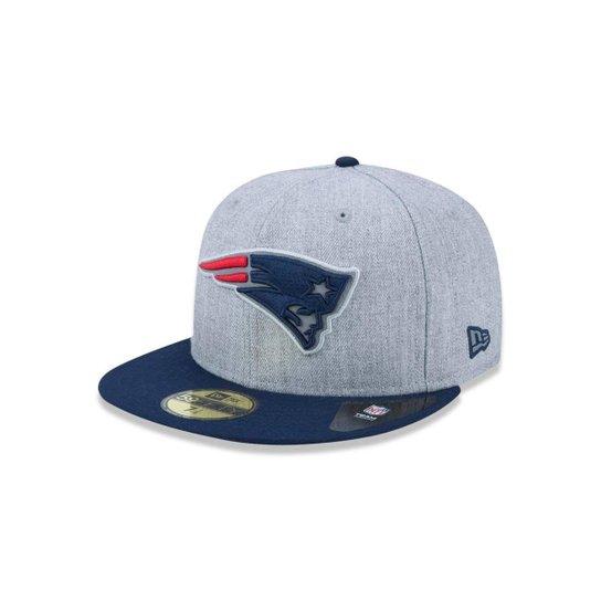 Boné 5950 New England Patriots NFL Aba Reta New Era - Compre Agora ... 6f2094072ec