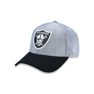 92417976f2154 Boné 940 Oakland Raiders NFL Aba Curva Snapback New Era