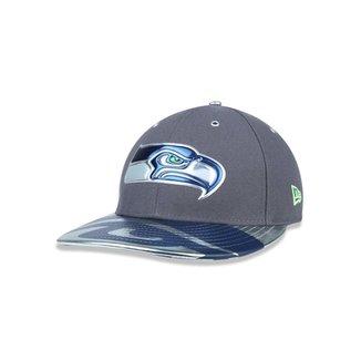 fca98a54feecb Boné 5950 Seattle Seahawks NFL Aba Reta New Era