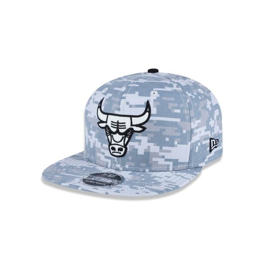 Boné 950 Original Fit Chicago Bulls NBA Aba Reta Snapback New Era - Cinza bbee1b8d2d6