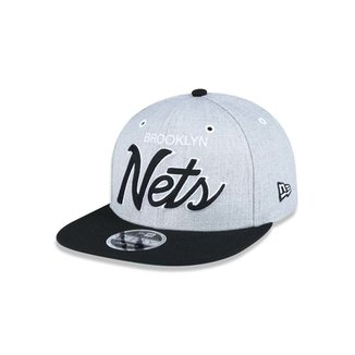 0f372f08ddd Boné 950 Original Fit Brooklyn Nets NBA Aba Reta Snapback New Era