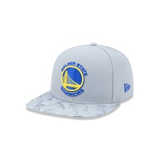 776e4a957d3e9 Boné 950 Original Fit Golden State Warriors NBA Aba Reta Snapback New Era
