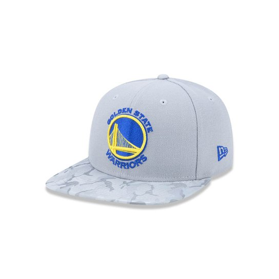 Boné 950 Original Fit Golden State Warriors NBA Aba Reta Snapback New Era -  Cinza 4be482c1217