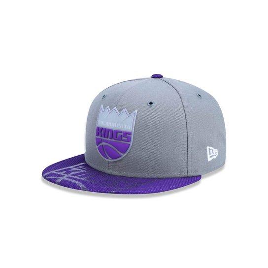 Boné 950 Sacramento Kings NBA Aba Reta New Era - Cinza - Compre ... bb3da14504a
