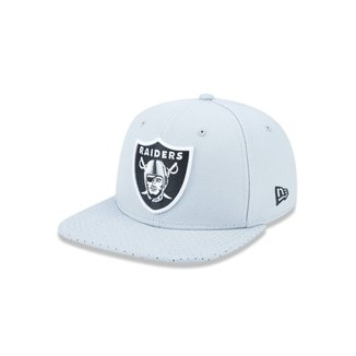 46aa6d3d806b1 Boné 950 Original Fit Oakland Raiders NFL Aba Reta Snapback New Era