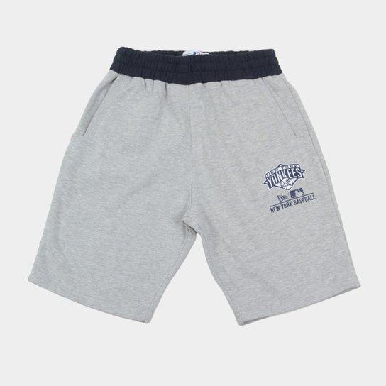 Bermuda MLB New York Yankees Moletom Core Masculina - Compre Agora ... ef14b312c64