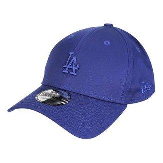 Boné New Era MLB Los Angeles Dodgers Aba Curva 940 Sn Core Mini Logo 4e6faa75eb3