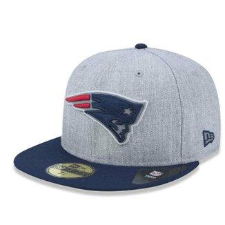 Boné New England Patriots 5950 Reflective Heather Fechado - New Era 2731eb6bec9