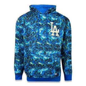44e19681a701b Moletom Canguru Fechado Los Angeles Dodgers MLB New Era