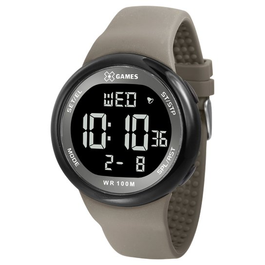 2cd7ccaf4bf Relógio Digital X-Games XMPPD439 - Compre Agora