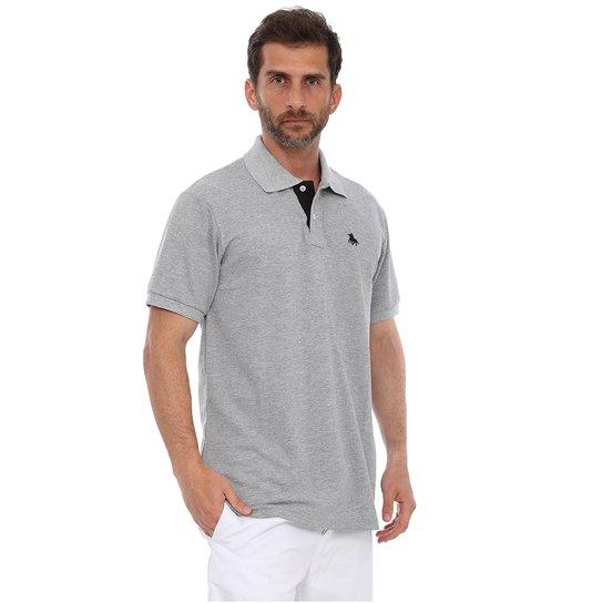 Camisa Polo England Polo Club Casual - Cinza - Compre Agora  b431a53ef6667