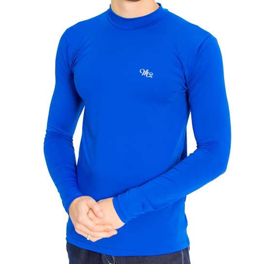 4c74bdaa360a8 Camiseta Térmica Manga Longa Masculina - Azul Royal - Compre Agora ...