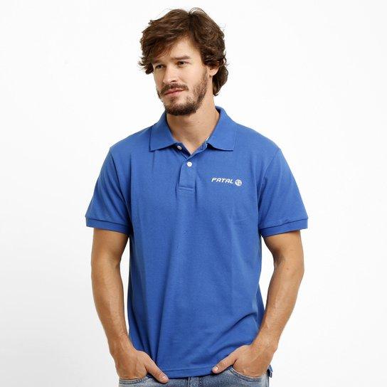 Camisa Polo Fatal Piquet Básica Logo - Compre Agora  e0c88421fcb0d