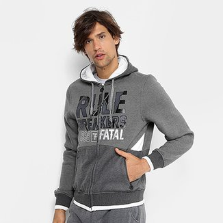 Jaqueta Fatal Moletom Rule Breakers Masculina