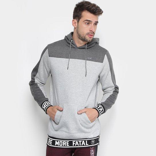 Moletom Fatal com Capuz Masculino - Cinza - Compre Agora   Netshoes f761fb1c1c