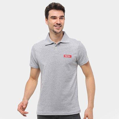 Camisa Polo Fatal Lisa Masculina