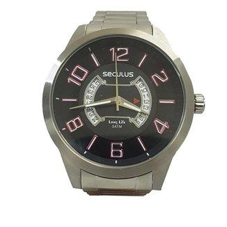 5bc853379ea Relógio Masculino Seculus Analógico 20325G0svna1