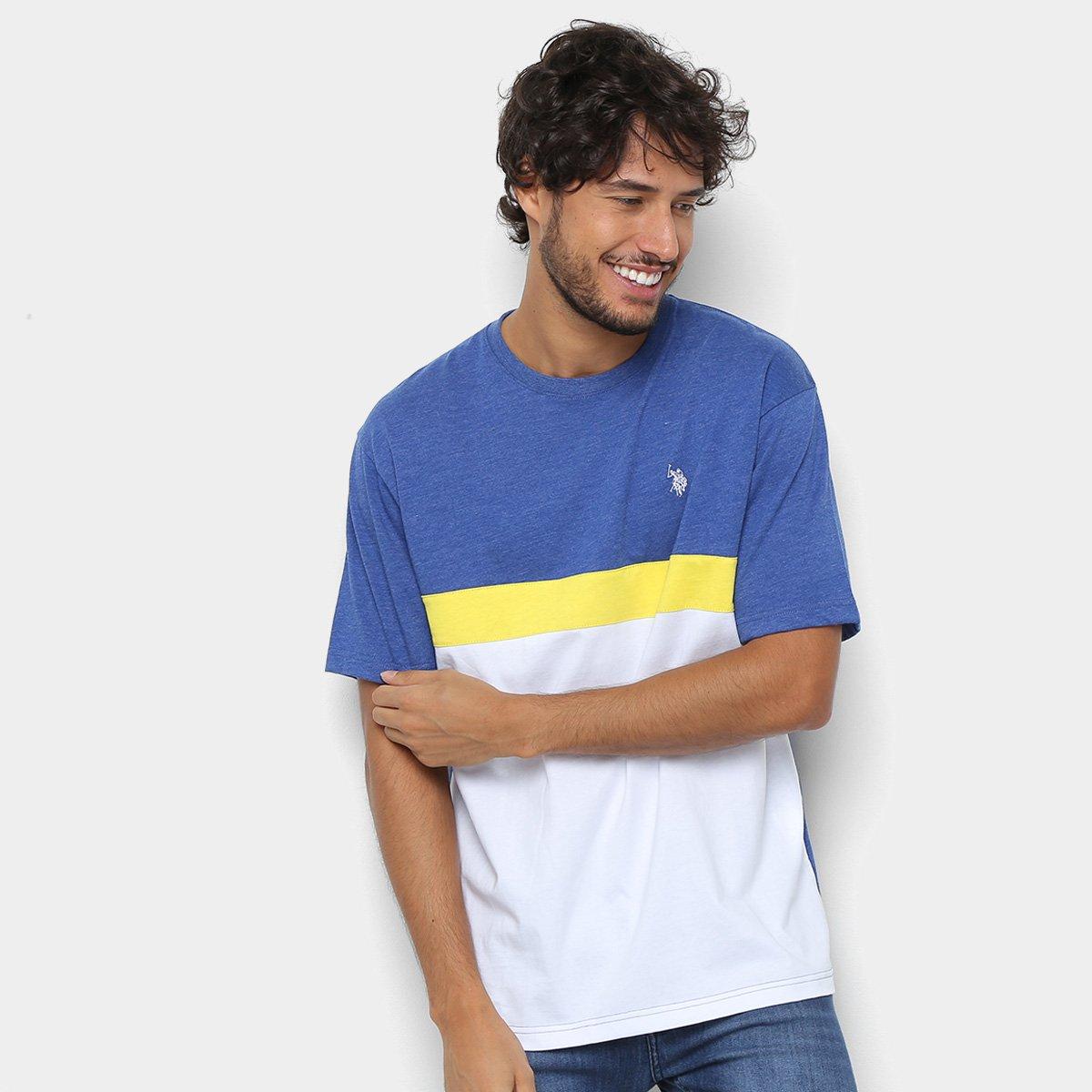 d6d7c34bb0 Camiseta U.S. Polo Assn Estampada Masculina