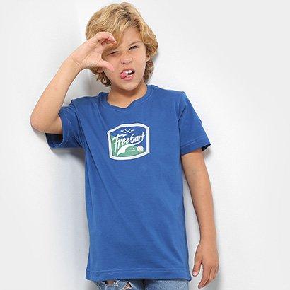 Camiseta Infantil Freesurf Estampada Masculina