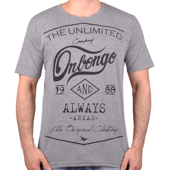 Camiseta Onbongo The Unlimited - Compre Agora  6aa5489a7f8bb