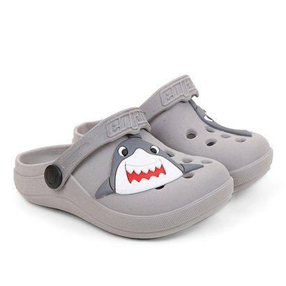 Babuche Infantil Luelua Tubarão Feminino