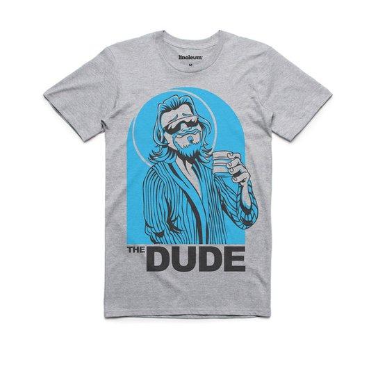b17265d9e87a9 Camiseta Linoleum Big Lebowski The Dude Masculina - Compre Agora ...