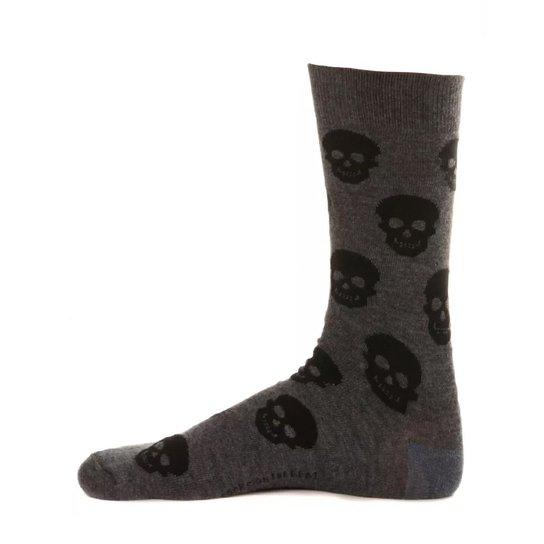 Meia Masculina de Caveira Skull Griss - Compre Agora  692c50bffb2
