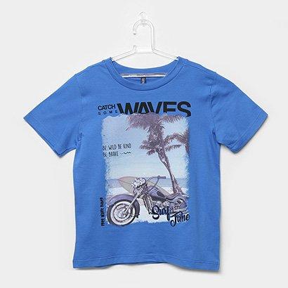 Camiseta Infantil Cativa Estampada Masculina