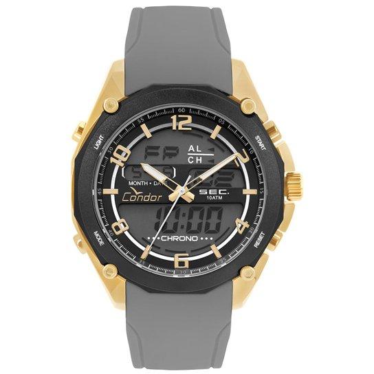 Relógio Condor Masculino Anadigi - COY121E6AD 3P COY121E6AD 3P - Cinza 0b68b04c00