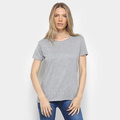 Camiseta Facinelli Ilhós Feminina