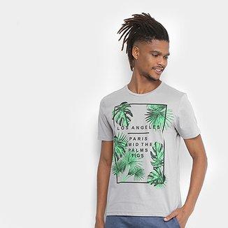 Camiseta Tigs Estampada Los Angeles Masculina b89dc126bd2