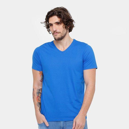ee869f60b7 Camiseta Kohmar Gola V Básica Masculina - Azul Royal