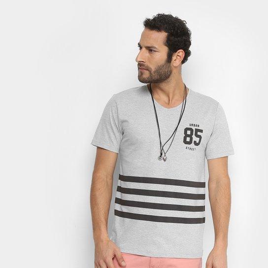 Camiseta Kohmar Estampada Masculina - Cinza - Compre Agora  79db7c8119d