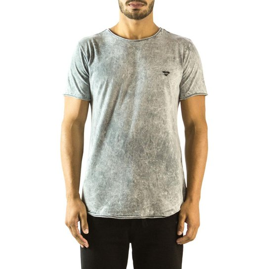 Camiseta Longline Curve Brohood Marmorizada Masculina - Compre Agora ... b9fee21920e