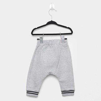 Calça Bebê Milon Moletom Masculina