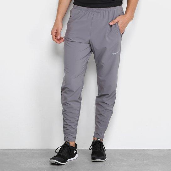 Calça Nike Essentials Woven Masculina - Cinza - Compre Agora  7bb3f755af1a0