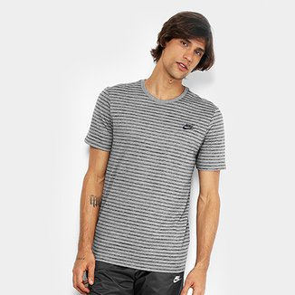 af4b0091b3e75 Camiseta Nike M NSW Striped LBR 2 Masculina