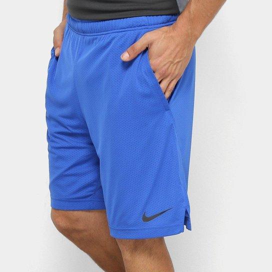 Bermuda Nike Monster Mesh 4.0 Masculino - Azul Royal - Compre Agora ... 84841f10c6a