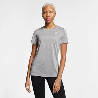 Camiseta Nike Dry Leg Tee Crew Feminina ea3f89d246856