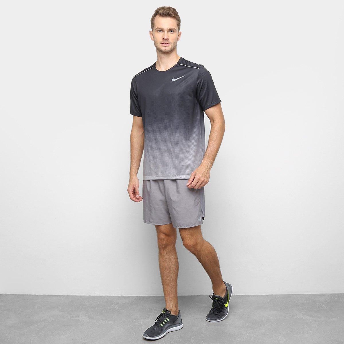 "Bermuda Nike Dri-Fit Challenger 7"" BF Masculino - Tam: G - 2"