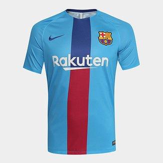 Camisa do Barcelona 19 20 Treino Nike Masculina 08b2ad3822464